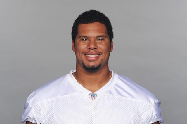 This is a 2013 photo of Andrew McDonald of the Miami Dolphins NFL football team. This image reflects the Miami Dolphins active roster as of Monday, June 10, 2013 when this image was taken. (AP Photo)