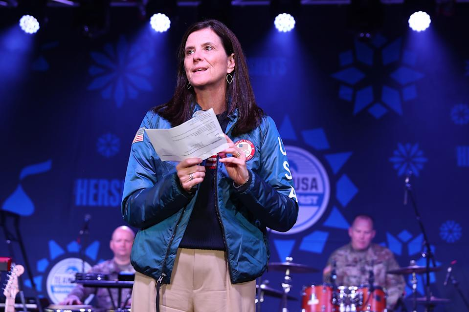 Former U.S. Olympic Committee CMO Lisa Baird was named the new NWSL commissioner. (Joe Scarnici/Getty Images for USOC)