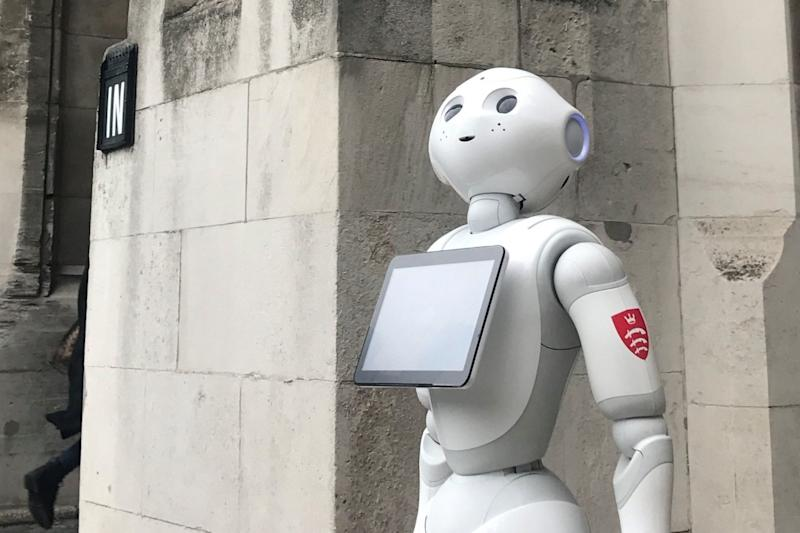 Pepper is set to answer questions at a parliamentary hearing: PA
