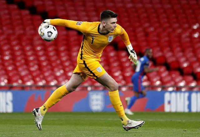 Nick Pope will start England's next two World Cup qualifiers