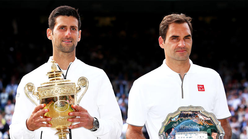 Novak Djokovic wants to continue his career and play for a long time like Roger Federer. (Getty Images)