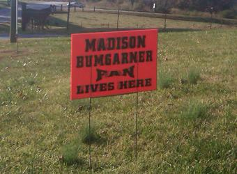 They haven't forgotten Madison Bumgarner. (Yahoo! Sports)