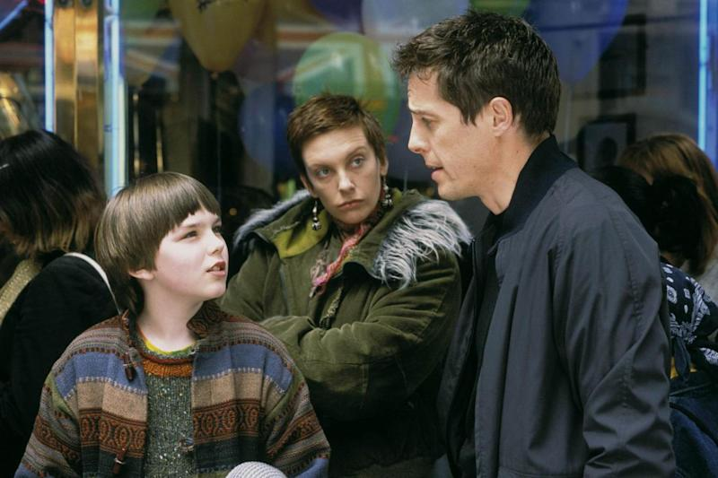 Throwback: A young Nicholas Hoult with Hugh Grant in About A Boy