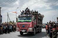 Members of the Tigray Defence Forces (TDF) took over the regional capital Mekele on June 29