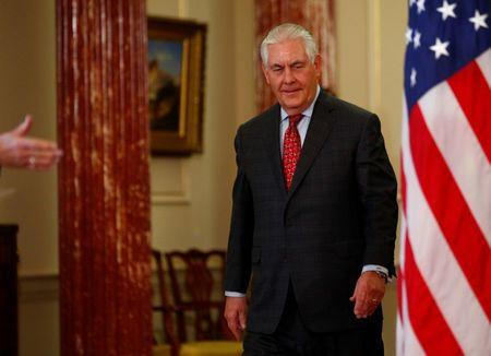 U.S. Secretary of State Rex Tillerson Meets With Baltic Leaders in Washington