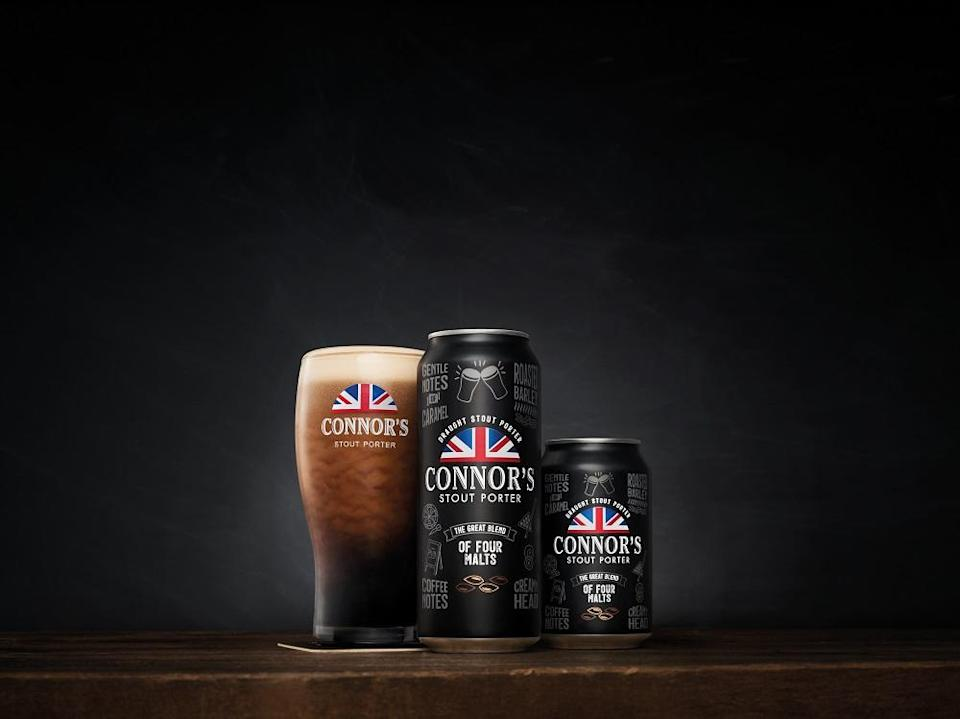 Connor's Stout Porter introduced its iconic draught stout experience now in cans. — Picture courtesy of Carlsberg Malaysia