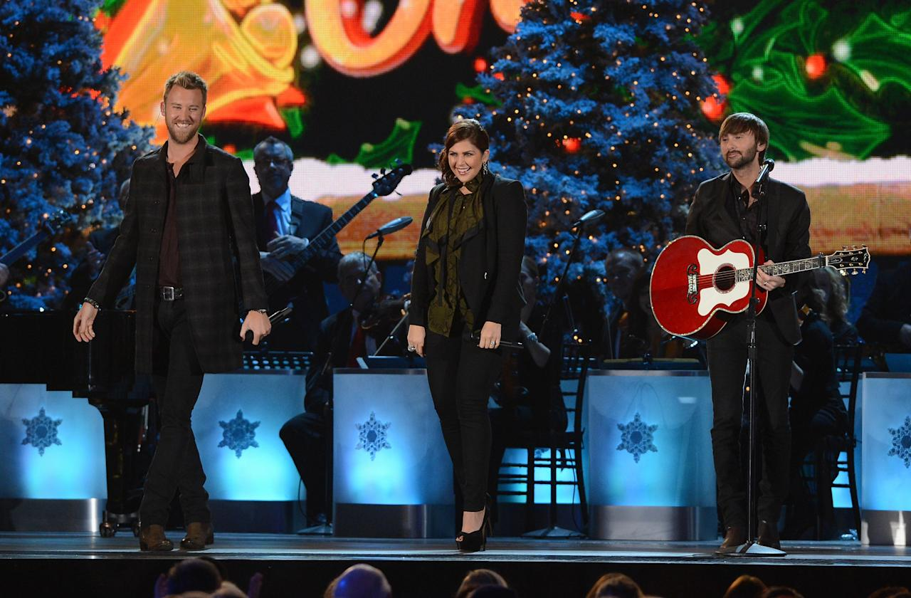 Lady Antebellum 2012 Country Christmas Nashville, TN