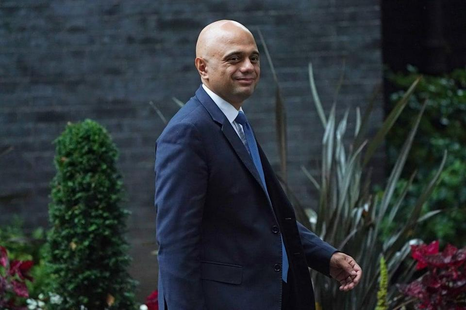 Health Secretary Sajid Javid said a surge in Covid-19 cases this winter could see people in England ordered to wear face masks and show passes to prove their vaccination status (Victoria Jones/PA) (PA Wire)