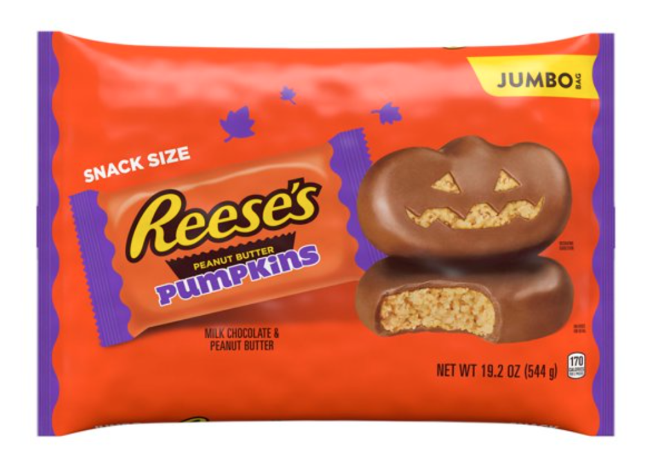 The most delicious Jack-o-lantern you can sink your teeth into. (Photo: Walmart.com)