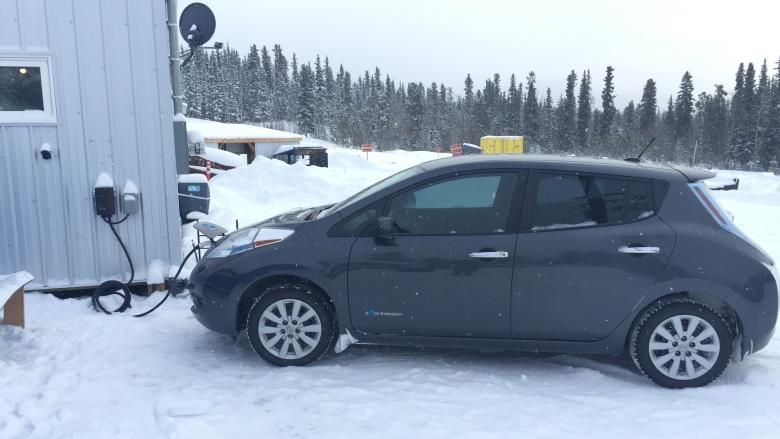 Hamlet opens Yukon's first public electric vehicle charging station