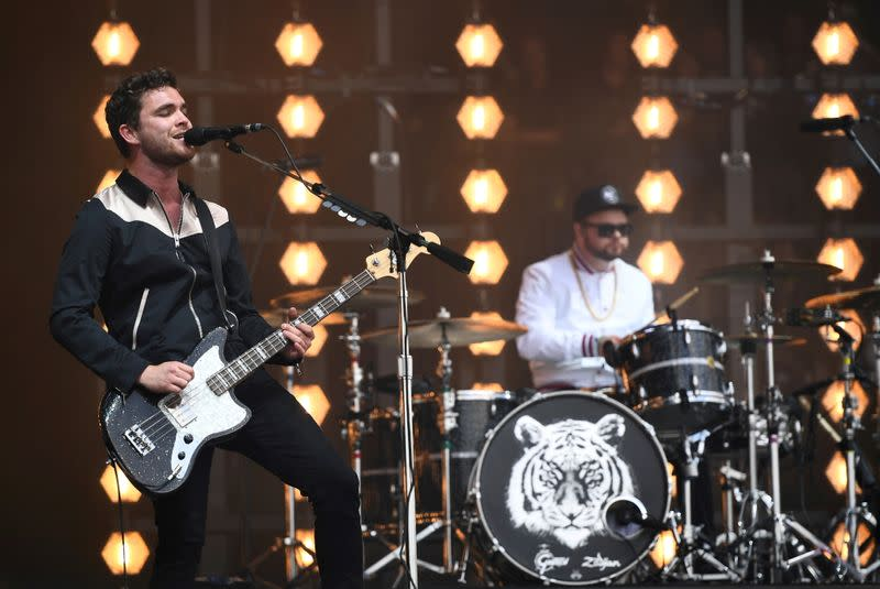FILE PHOTO: Royal Blood perform at Worthy Farm in Somerset during the Glastonbury Festival