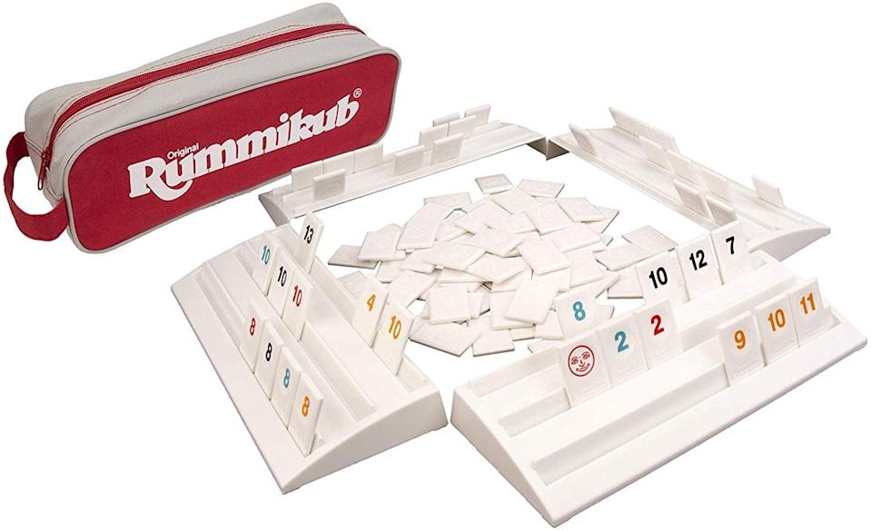 """<p>""""My friend recently introduced me to this <span>Rummikub the Complete Original Game</span> ($20) and I can't get enough of it! It's great to play with a small group and requires just the right of mental agility. """" - Kelsey Kennick, editorial operations manager</p>"""