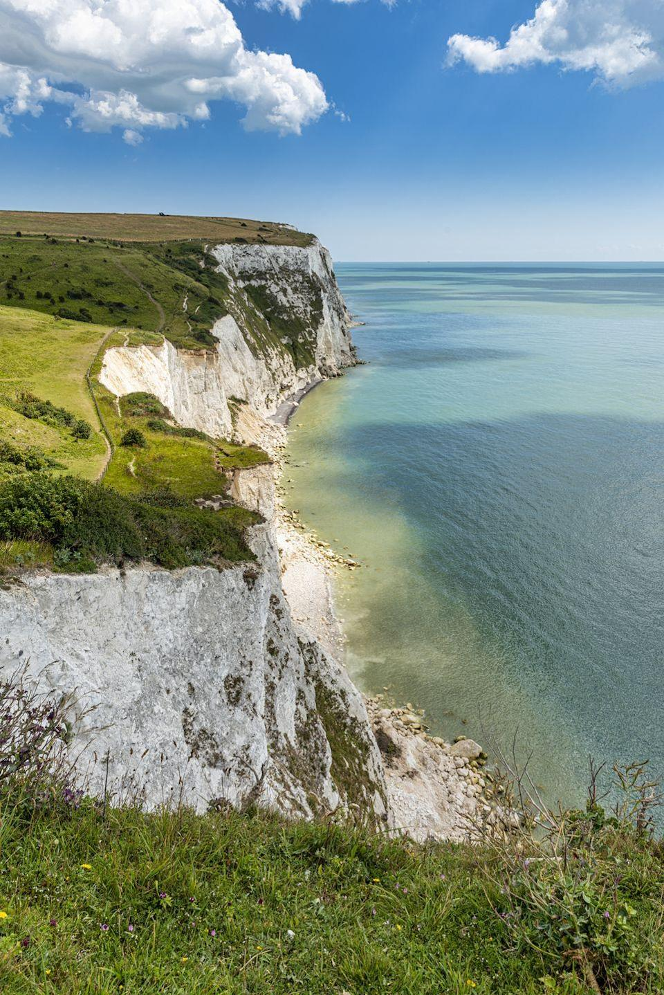 "<p>Scoring 19% in the study, the beautiful White Cliffs of Dover are perhaps one of the most famous landmarks. Perfect for an afternoon walk. </p><p><strong>READ MORE</strong>: <a href=""https://www.countryliving.com/uk/wildlife/countryside/a33212973/white-cliffs-of-dover-wildlflowers-the-national-trust/"" rel=""nofollow noopener"" target=""_blank"" data-ylk=""slk:The White Cliffs of Dover are covered in wildflowers, birds and butterflies"" class=""link rapid-noclick-resp"">The White Cliffs of Dover are covered in wildflowers, birds and butterflies</a></p>"
