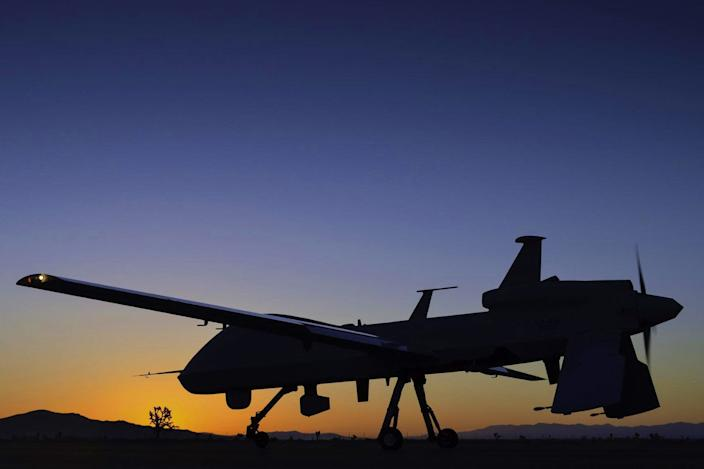 The Gray Eagle Unmanned Aircraft System is a technologically advanced derivative of the combat-proven Predator. (Photo: Courtesy of General Atomics Aeronautical Systems)