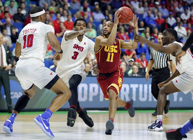 USC beat SMU for the second time this season. (AP)