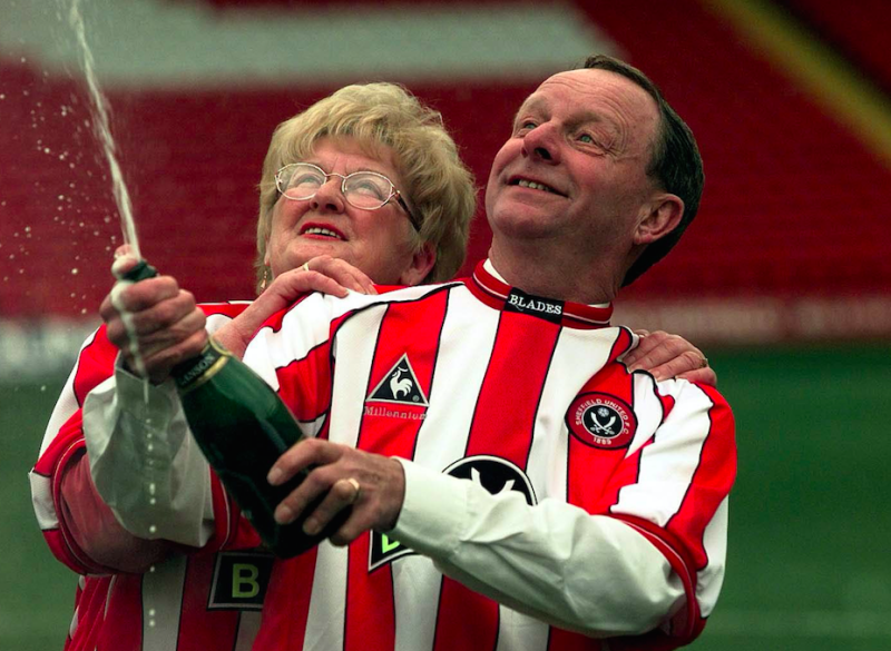 Barbara and Ray Wragg won the National Lottery in 2000 (Picture: PA)