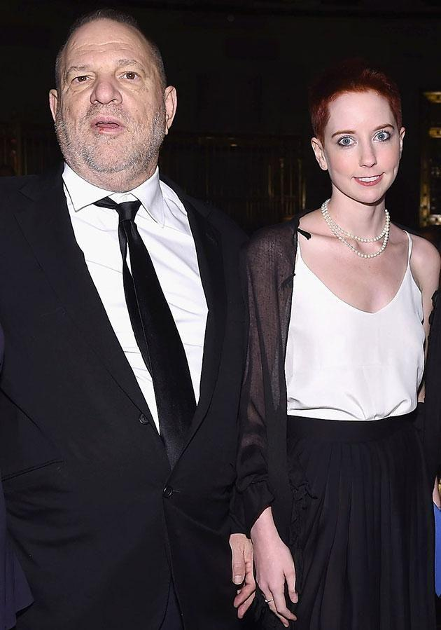 Weinstein pictured with daughter Remy in happier times. Source: Getty