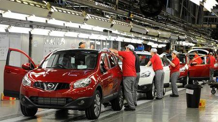 Car production up 8% in UK to halt seven-month decline