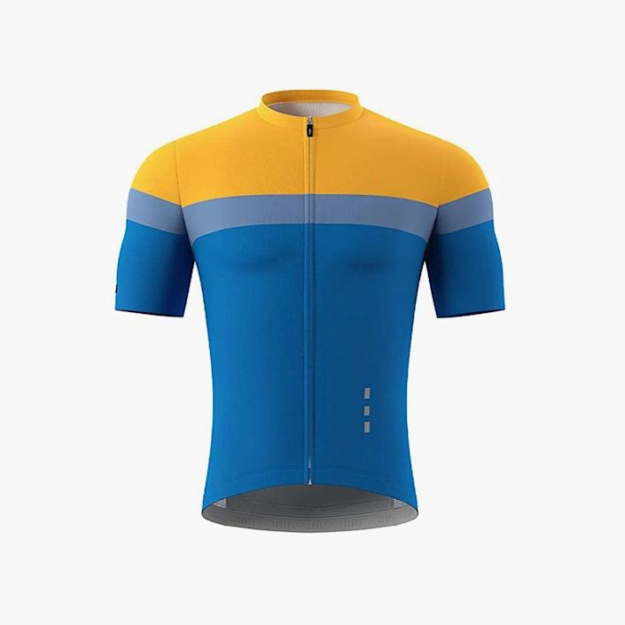 """$98, AMAZON. <a href=""""https://www.amazon.com/Souke-Sports-Cycling-Extreme-Comfort/dp/B096N1KPHD/ref=cs_sr_dp_2?c=ts&dchild=1&keywords=Cycling%2BClothing&qid=1623704846&refinements=p_89%3ASouke%2BSports&s=outdoor-recreation&sr=1-25&ts_id=2371051011&th=1"""" rel=""""nofollow noopener"""" target=""""_blank"""" data-ylk=""""slk:Buy Now"""" class=""""link rapid-noclick-resp"""">Buy Now</a><br>"""
