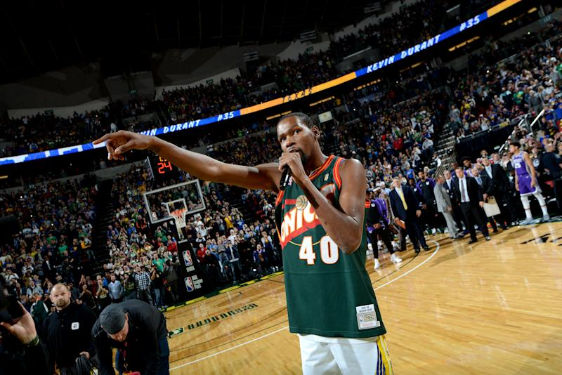 548b1a2001d9 Kevin Durant said on Wednesday that he d love to help bring a NBA team back  to Seattle once he s done playing