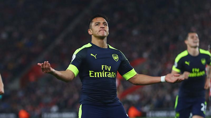 Southampton 0 Arsenal 2 Sanchez hits 20 for season as Gunners dream of top four