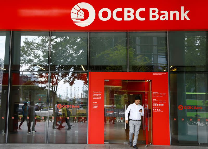 Singapore bank OCBC sees virus trimming revenue by 2% this year