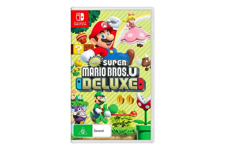 Super Mario Bros U Deluxe For Nintendo Switch Gets A 17 Discount