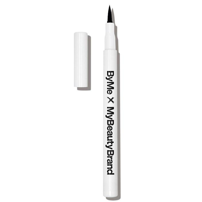 """Why you'll love it: This black liquid eyeliner delivers pitch-black pigment in a budge-proof formula. It glides easily across the skin, but it dries down super quickly. How you'll use it: The felt-tip applicator is on the stiffer side, so it provides just the right amount of control and flexibility for pulling off a perfect flick, whether you're a winged-eyeliner veteran or are still learning the ropes. """"This formula's pigment and texture help it completely avoid tugging at your skin,"""" says Nicola Dall'Asen. +Subscribe now+"""