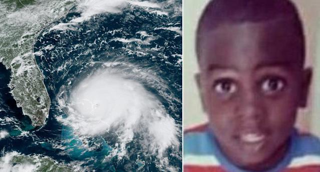 Lachino Mcintosh, seven, was killed after Hurricane Dorian hit the Bahamas (Picture: Getty)