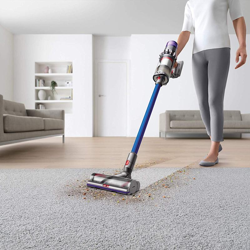 Dyson's newest cord-free vacuum is now on sale. (Photo: Amazon)