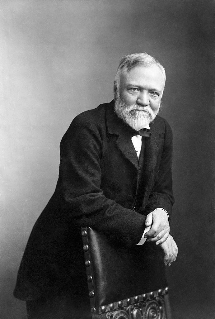 (1896) Portrait of Andrew Carnegie. <em>Photo: Getty</em>