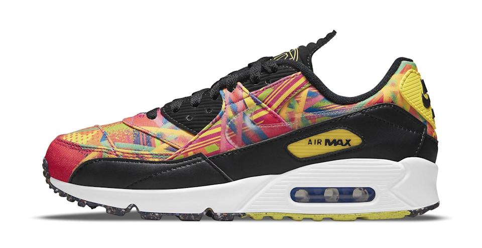 """The lateral side of the Nike Air Max 90 """"Familia."""" - Credit: Courtesy of Nike"""