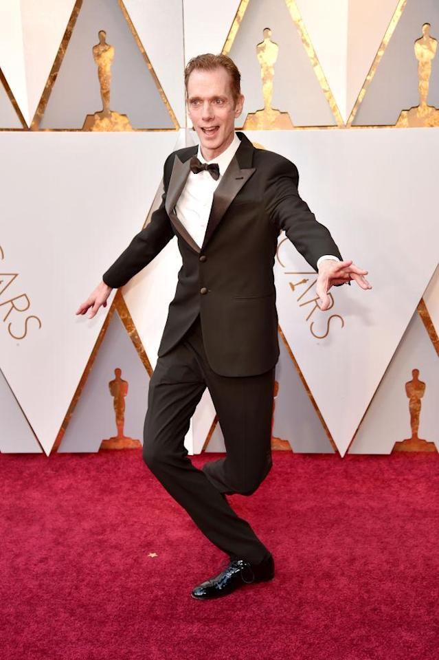 <p>Doug Jones attends the 90th Academy Awards in Hollywood, Calif., March 4, 2018. (Photo: Getty Images) </p>