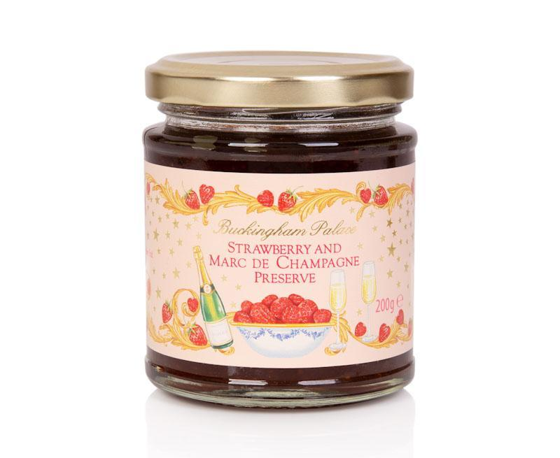 The strawberry and champagne jam