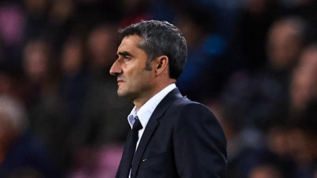 Ernesto Valverde is under growing pressure at Barcelona, but Guillermo Amor played down talk of a possible sacking.
