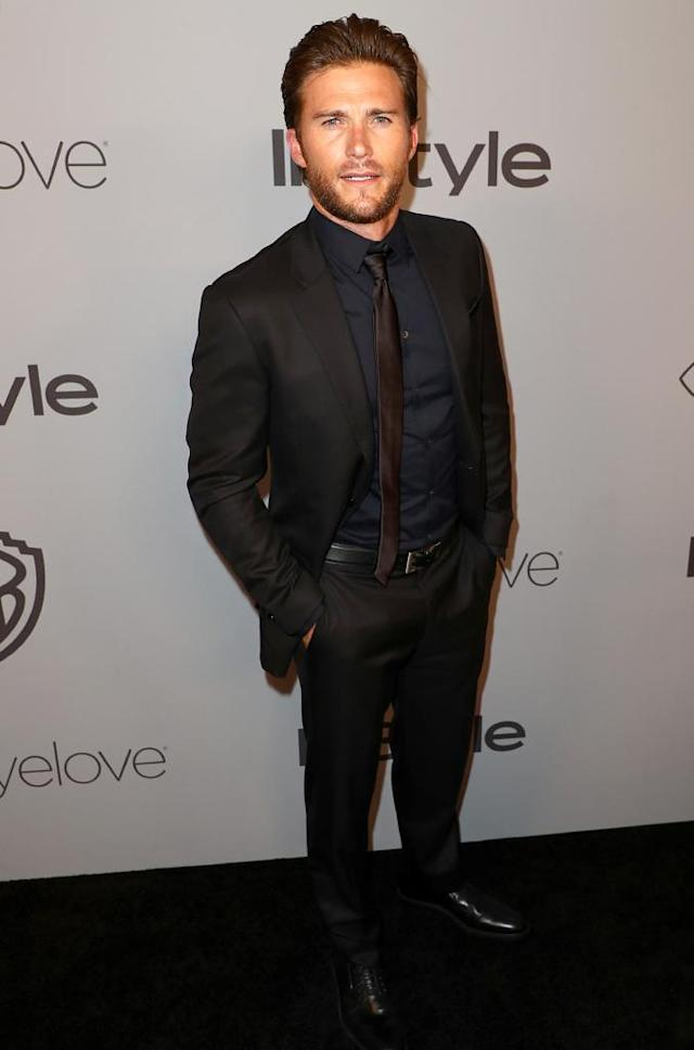 <p>Scott Eastwood attends the InStyle and Warner Bros. party. (Photo: Joe Scarnici/Getty Images for InStyle) </p>