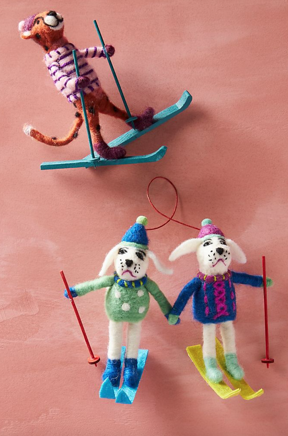 Skiing Poodles Ornament (Photo via Anthropologie)