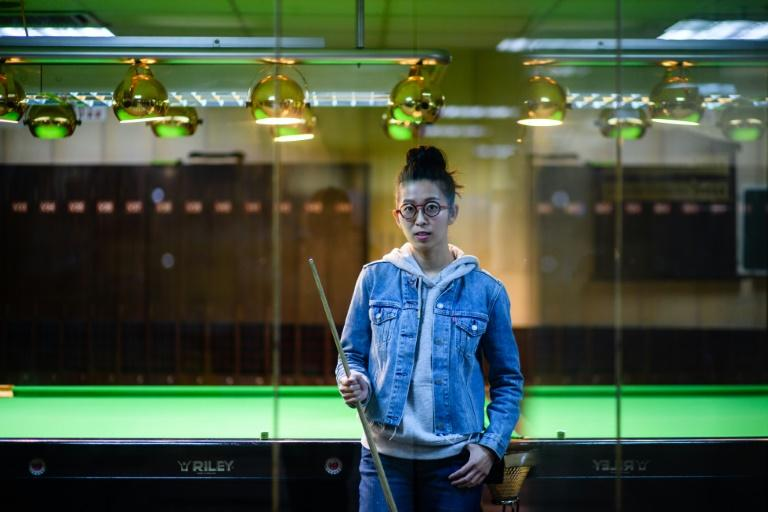 Ng On-yee became the first Asian woman to be invited to the men's world championship in 2016