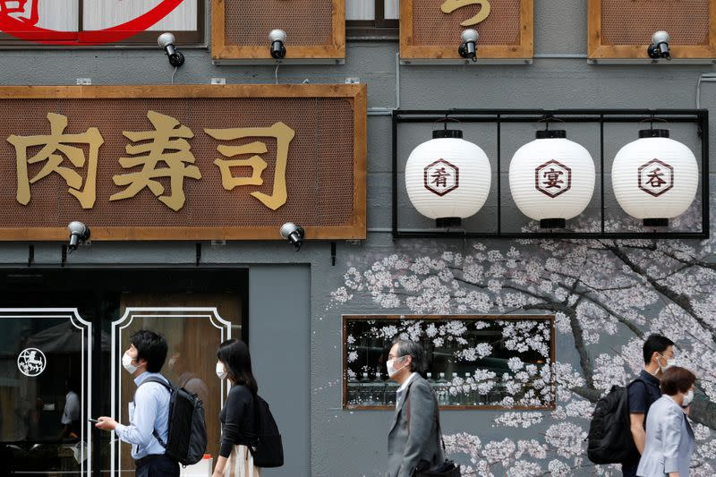 Japan's service sector mood jumps in June as lockdowns ease