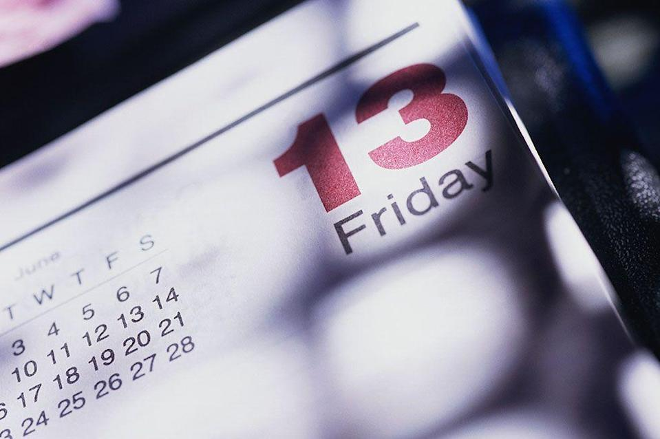 """<p>The stigma attached to Friday the 13th is widely believed to have <a href=""""http://time.com/4325675/friday-the-13th-unlucky-why/"""" rel=""""nofollow noopener"""" target=""""_blank"""" data-ylk=""""slk:biblical roots"""" class=""""link rapid-noclick-resp"""">biblical roots</a>. The number 12 is seen in many cultures as a sort of """"perfect"""" number and adding one more to that throws things off a bit. According to the bible, Judas was the 13th guest to arrive at the Last Supper and Friday was widely believed to be the day Jesus was crucified (but has since been brought into question.) </p><p>Similarly in Norse mythology, Loki was the 13th guest to arrive at a dinner for the gods in Valhalla and wreaked havoc on the whole event. The Friday superstition also has origins in the U.S. where (in the 19th century) all executions took place on Friday. </p><p>There's even a word for people who fear Friday the 13th: friggatriskaidekaphobics.</p>"""