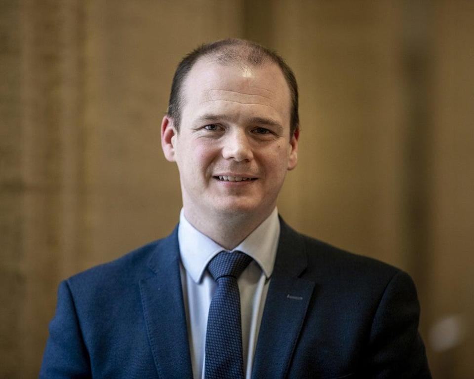 Economy Minister Gordon Lyons called on the Executive to 'set a path' to end remaining Covid restrictions in Northern Ireland (Liam McBurney/PA) (PA Wire)