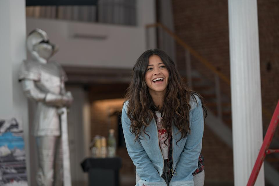 <h3><strong><em>Someone Great </em></strong><br>April 19</h3><br><br>You want it, you got it. Netflix is bringing us another romantic comedy — this time, starring Gina Rodriguez. She plays a newly single woman who decides to go on one last New York adventure before moving for her dream job. The movie is produced by Rodriguez and <em>Bridesmaids </em>director Paul Feig, and directed by Jennifer Kaytin Robinson.