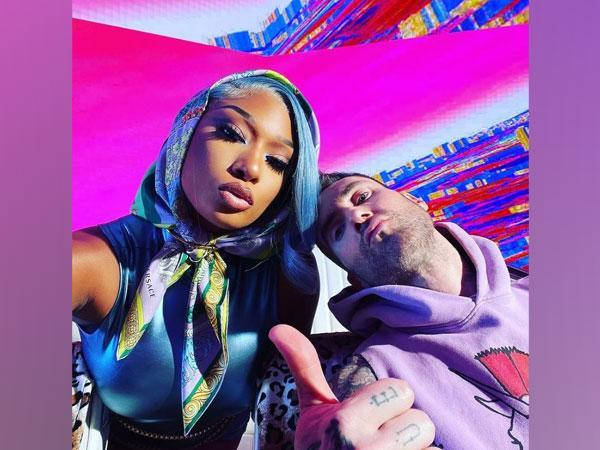 Megan Thee Stallion and Adam Levine (Image Source: Instagram)