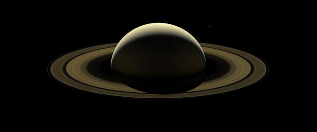 <p>After more than 13 years at Saturn, and with its fate sealed, NASA's Cassini spacecraft bid farewell to the Saturnian system by firing the shutters of its wide-angle camera and capturing this last, full mosaic of Saturn and its rings two days before the spacecraft's dramatic plunge into the planet's atmosphere. The Cassini spacecraft ended its mission on Sept. 15, 2017. (Photo: NASA/JPL-Caltech/Space Science Institute) </p>