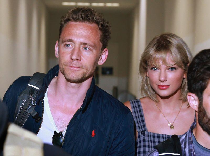 Taylor Swift with Tom Hiddleston on July 8th, 2016.