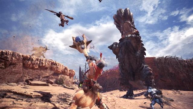'Monster Hunter World' is the most ambitious entry in the series yet.