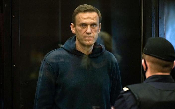 """Mr Navalny's personal physician said he was in critical condition because of """"catastrophically high"""" potassium levels - AFP"""