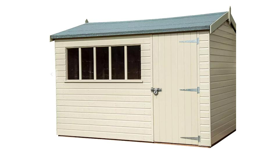 Crane Garden Buildings 2.4 x 3m Windsor Garden Shed