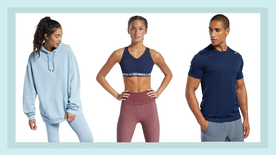 Reebok's 50% off sale is here.