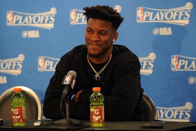 Jimmy Butler isn't worried about the haters this season. (Getty)